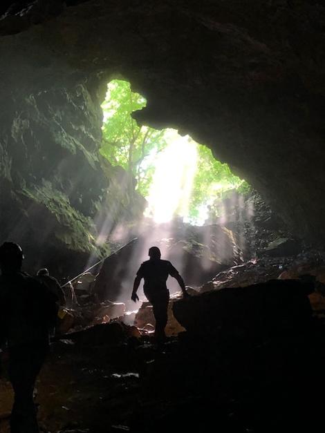 Entrance to Kingston Saltpeter Cave