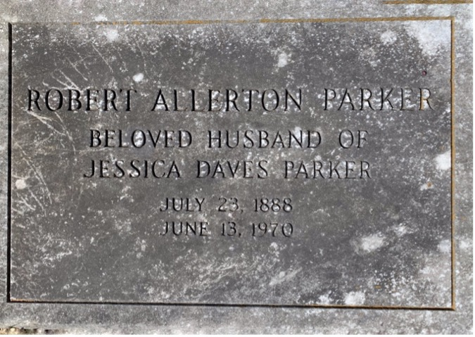 Robert Allerton Parker Gravestone