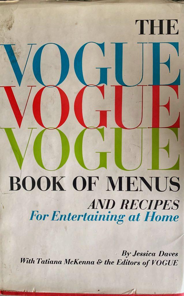 Vogue Book of Menus