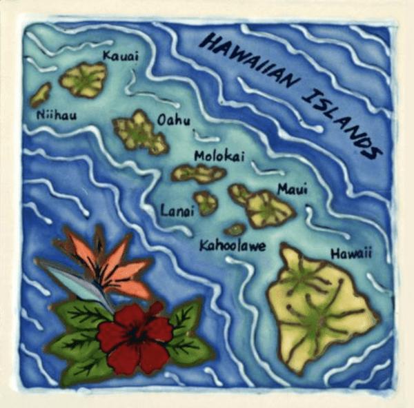 Hawaiian Islands Chain