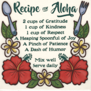 Recipe for Aloha Tile