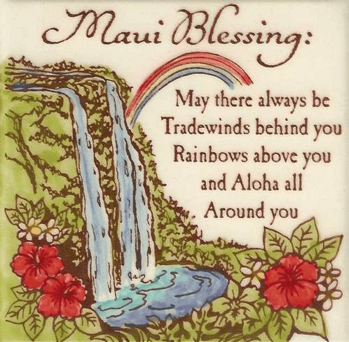 Maui Blessing Tile