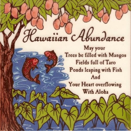 Hawaiian Abundance Tile