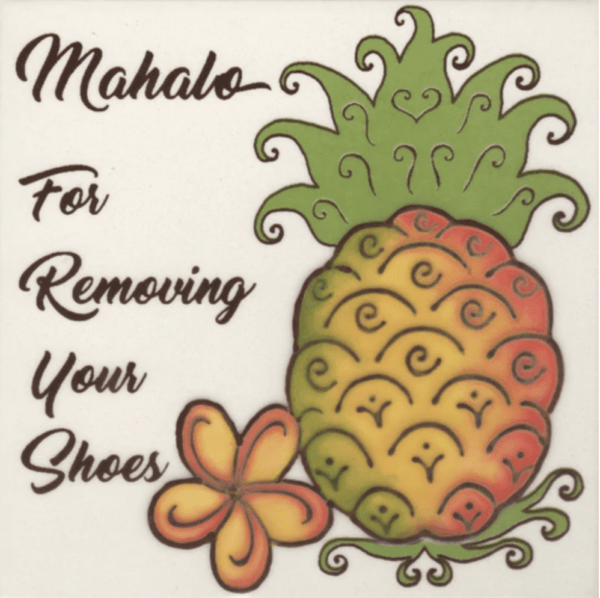 Pineapple Remove Shoes Tile