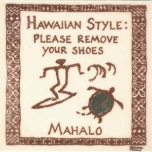Petro Surfer Hawaiian Style Tile