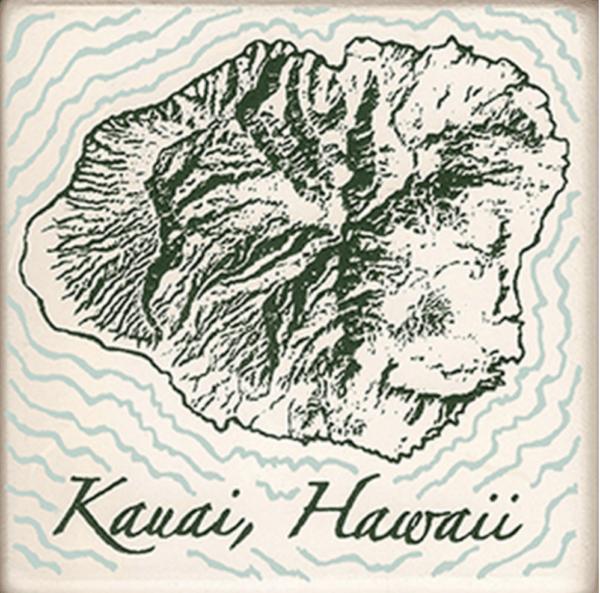 Island of Kauai Coasters