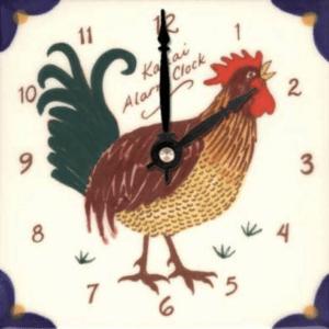 """Kauai Alarm 6"""" Clock"""