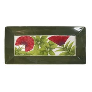 "15"" Angled Rim Rectangular Platter Lehua 3021"