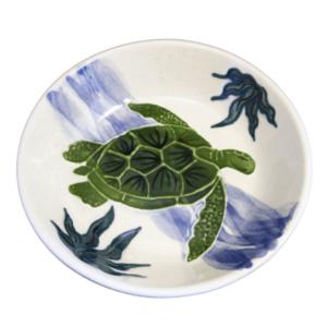 Pasta Bowl Embossed Honu (Turtle)