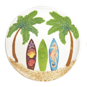 "15"" Coupe Platter Hawaiian Surfboards"
