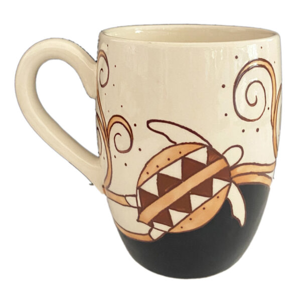 barrel mug tapa honu
