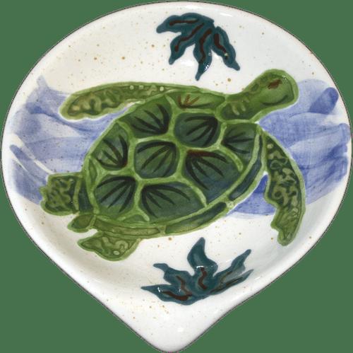 Rd. Spoon Rest Embossed Honu (Turtle)