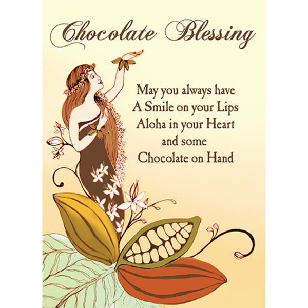 Chocolate Blessing Greeting Card