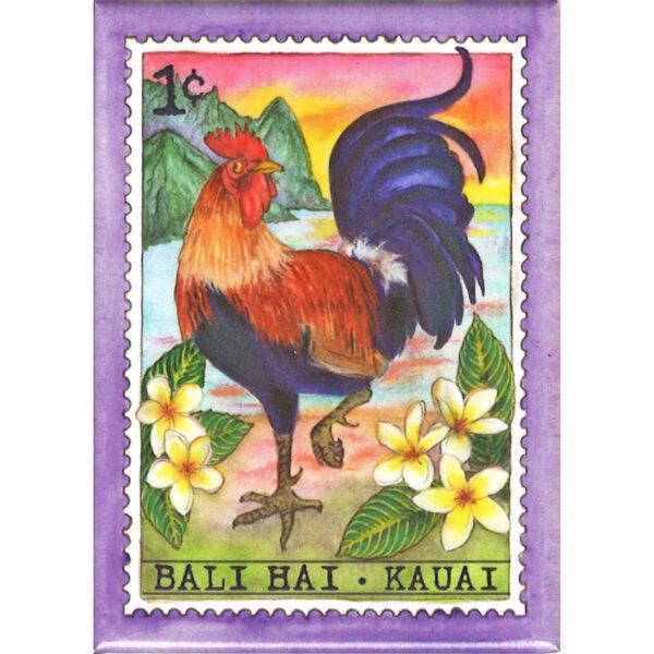 M-1 Rooster Bail Hai Kauai 1 cent Magnet