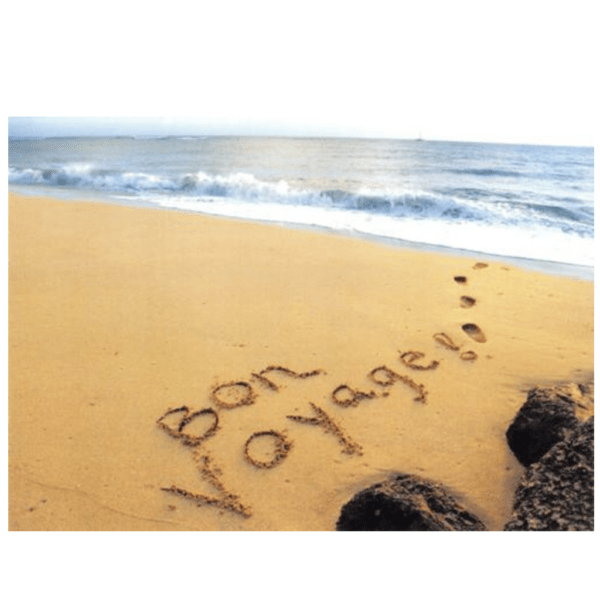 Bon Voyage (Polihale Beach) Greeting Card