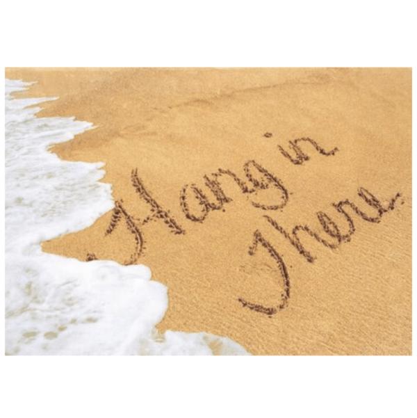 Hang in There (Kekaha Beach) Greeting Card
