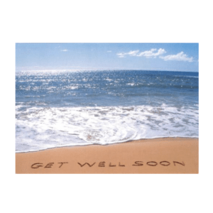 Get Well Soon (Shipwreck's Beach) Greeting Card