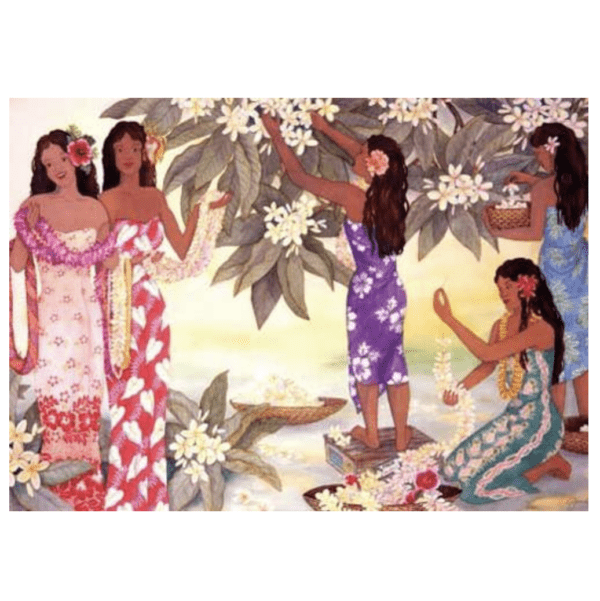 Lei Makers Greeting Card