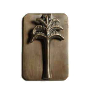 Palm Plate Cabinet Pull