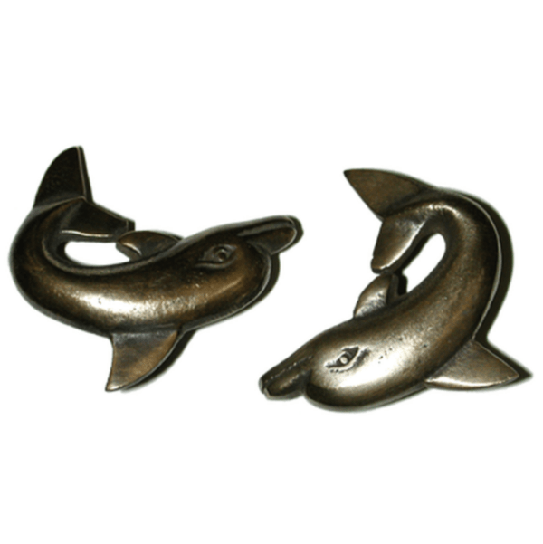 Dolphin Pair Cabinet Pulls