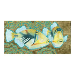 Picasso Humu in Gold Giclée