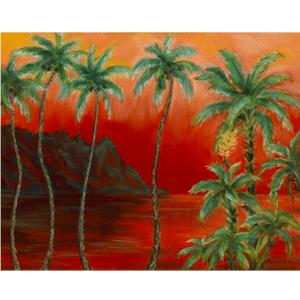 Bali Hai Sunset II Giclée