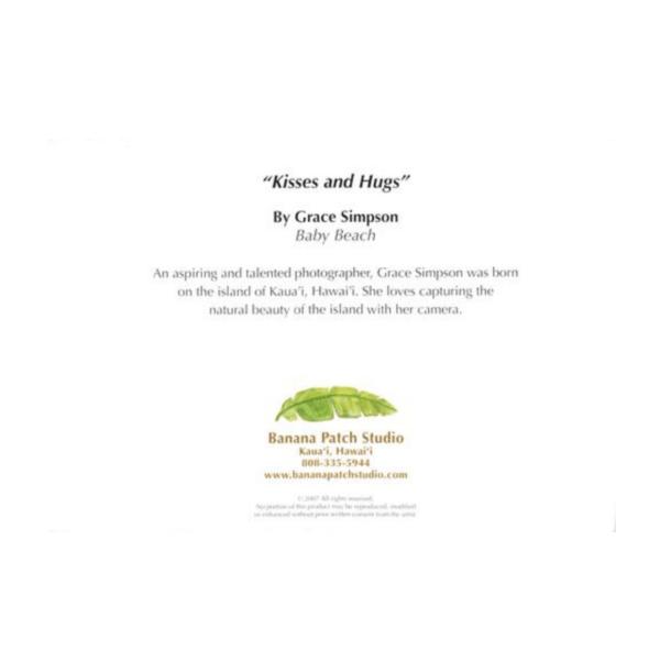 Kisses and Hugs (Baby Beach) Greeting Card