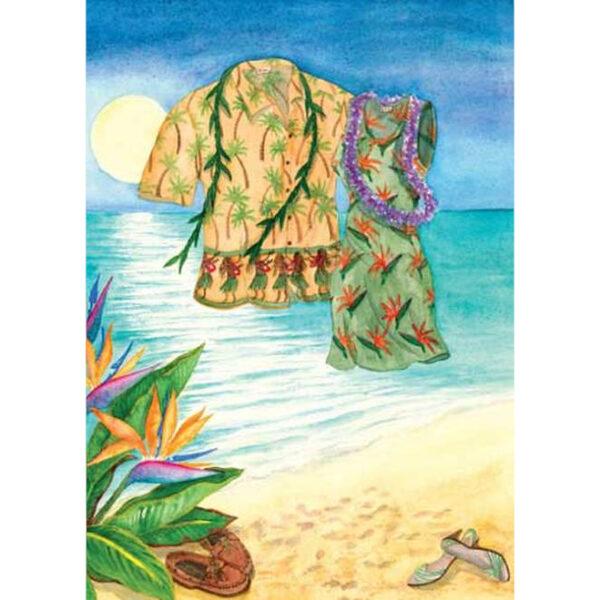 Moon Dance Greeting Card