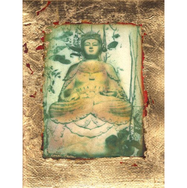 Gold Buddha Giclée