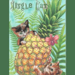 Jungle Cats Print