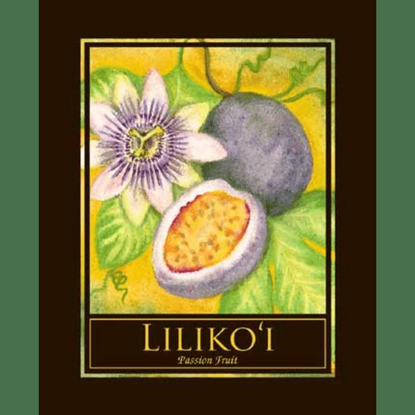 Lilikoi Passion Fruit Print