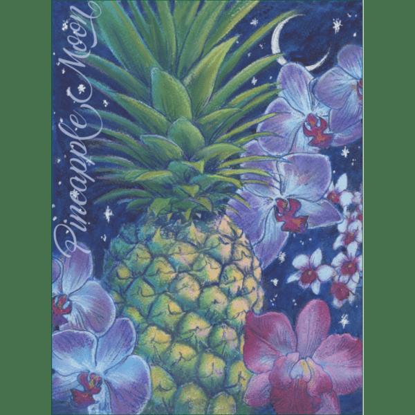 Pineapple Moon Print