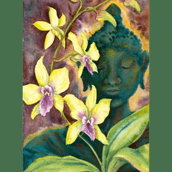 Bronze Buddha Print