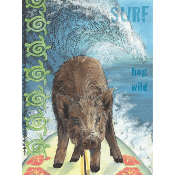 Surf Hog Wild Print