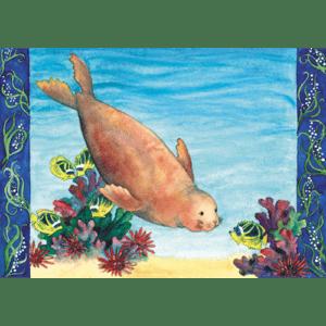 Hawaiian Monk Seal Print
