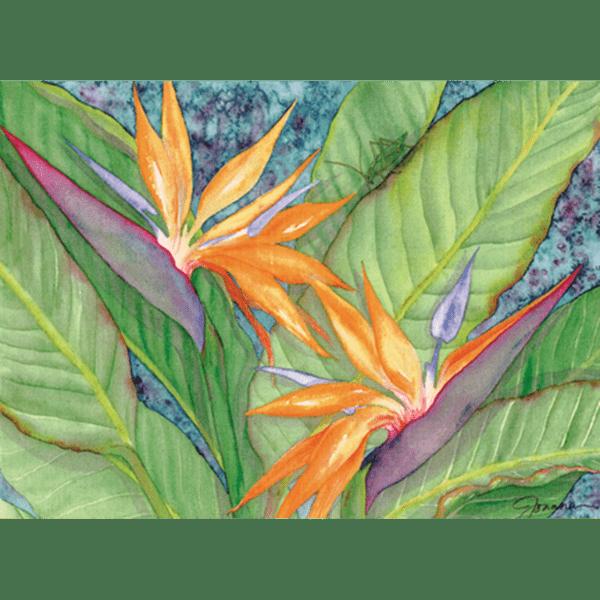 Bird Paradise Grasshopper Print