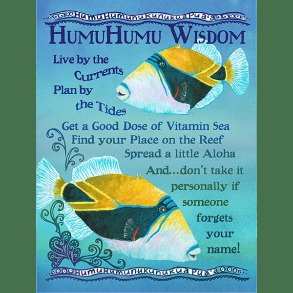 Humu Humu Wisdom Print