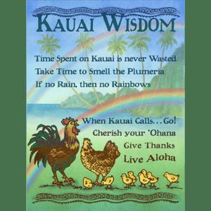 Kauai Wisdom Print