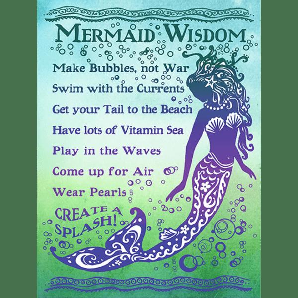 Mermaid Wisdom Print