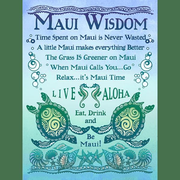 Maui Wisdom Print