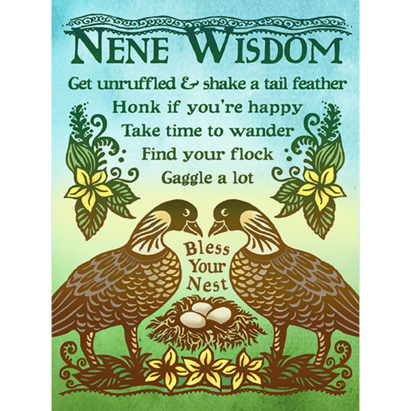 Nene Wisdom Print