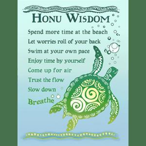 Honu Wisdom Print