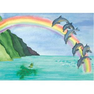 Over Rainbow Print
