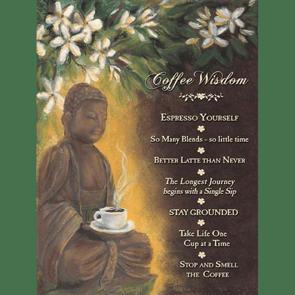 Wisdom Coffee Buddha