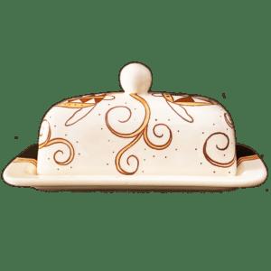 Tapa Honu Butter Dish