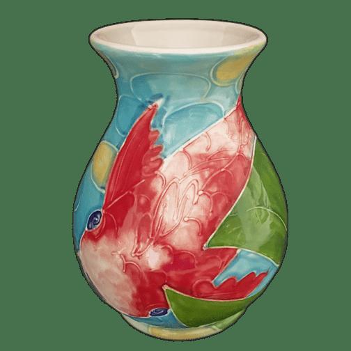 Tropical Koi Classic Vase
