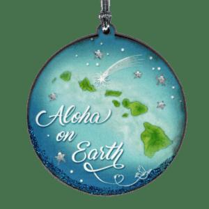 Aloha on Earth Ornament