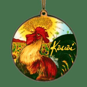 Rooster Kauai Ornament