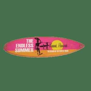 Endless Summer Wood Surfboard Sign