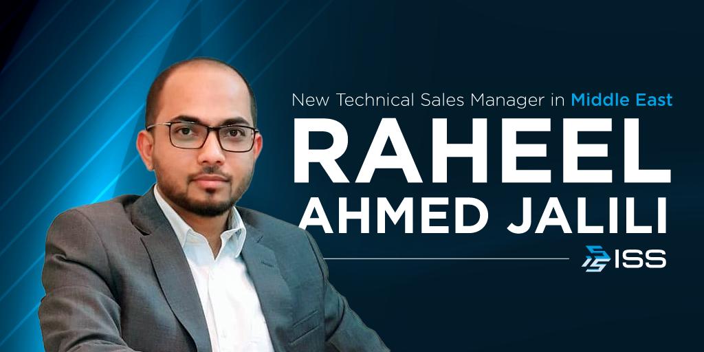 Raheel joining ISS in Saudi Arabia